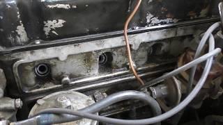 Раскоксовка двигателя на очень старом автомобиле