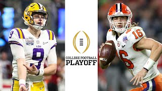 LSU vs Clemson In-Depth College Football National Title Preview