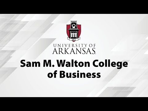 Sam M. Walton College of Business Commencement