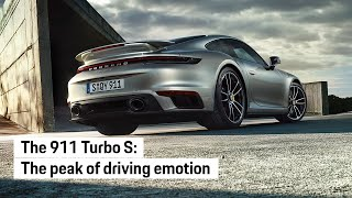 PORSCHE JUST REVEALED THE MOST POWERFUL 911 TURBO YET