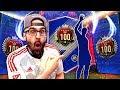 OMG BEAST TOP 100 REWARDS! *EPIC TOTS PLAYER* FIFA 18 Ultimate Team Fut champions