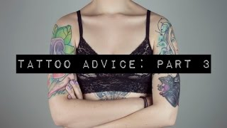 Tattoo Advice Part 3: Script And Writing