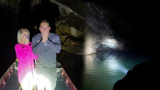 EXPLORING HAUNTED CAVE.. *CREEPY*
