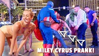 MILEY CYRUS PRANK!