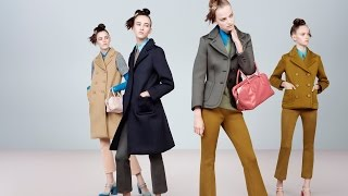 Для самых модных девчонок, Prada Womenswear Fall/Winter 2015 Advertising Campaign