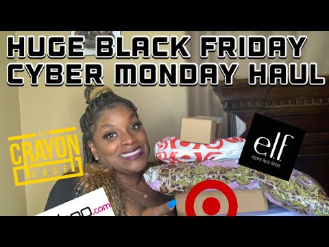 Huge Black Friday Cyber Monday Haul {Gifts for myself}