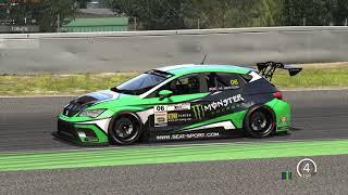 Assetto Corsa WTCR 2018 Cupra hotlap @ Barcelona - 1:53.259