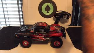 TECESY FIGHTER-1 1:12 SCALE 4WD 2.4GHZ FULL SCALE OFF ROAD TRUCK UNBOXING & QUICK TEST RUN