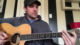 The Stone-Guitar Tutorial-Dave Matthews Band