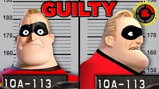Film Theory: Can You SUE a Superhero? (Disney Pixar