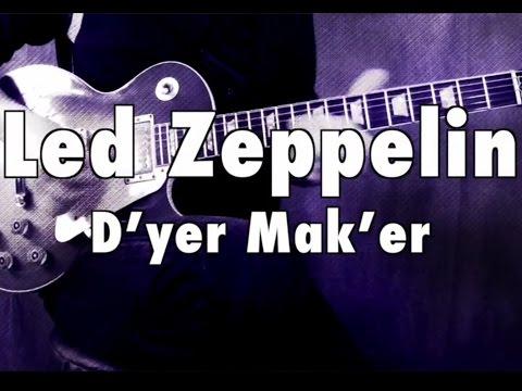 Dyer Maker Dyer Maker Led Zeppelin Guitar Lesson Chords
