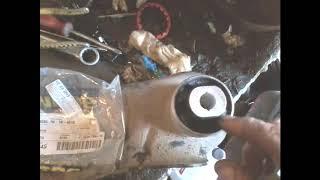 ремонт передних рычагов рено флюинс +кат№