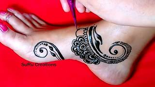 Foot Henna Design Free Video Search Site Findclip