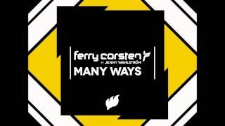 Ferry Corsten & Jenny Wahlström - Many Ways