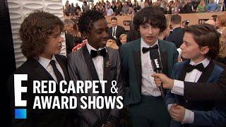 """Stranger Things"" Cast Have Superstar Celeb Fans   E! Red Carpet & Award Shows"