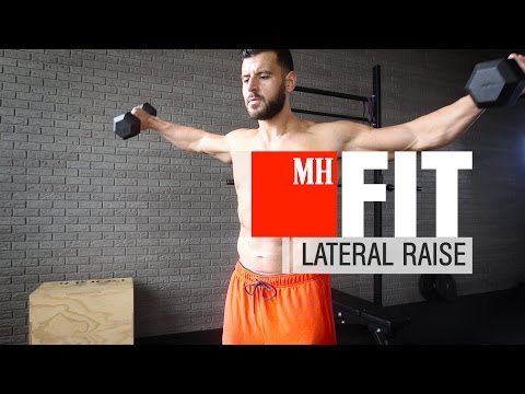 Fitness: How to build bigger shoulders with lateral raises