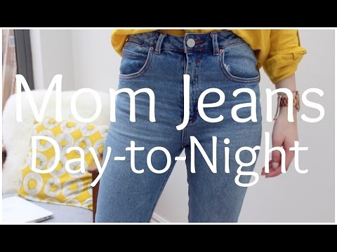 Styling Mom Jeans Day-to-Night | Peexo