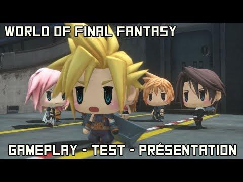 WORLD OF FINAL FANTASY : Un simple fan service ? Gameplay – Test –  Présentation et Avis en Français