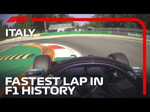The Fastest Lap In F1 History - Lewis Hamilton's Pole Lap | 2020 Italian Grand Prix | Pirelli