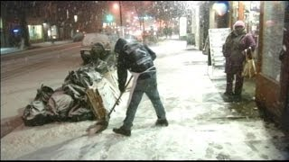 Extreme Winter Weather: Blizzard Conditions Blanket Northeast