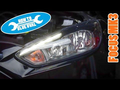 Anleitung: Ford Focus MK3 Facelift (DYB, Bj.14-18) Scheinwerfer tauschen / ausbauen, Birnen wechseln