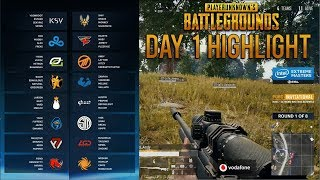 Day 1 Highlight - ESL PUBG Katowice 2018 (Game 1-4 of 8)