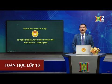 MÔN TOÁN - LỚP 10 | LUYỆN TẬP: CÔNG THỨC LƯỢNG GIÁC (TIẾT 4) | 14H15 NGÀY 14.05.2020 | HANOITV