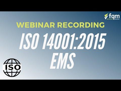 ISO 14001:2015 Training - Environmental Management - YouTube