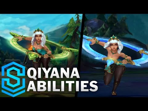 , title : 'Qiyana Reveal - The Empress of the Elements | New Champion'