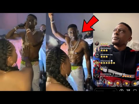 Boosie Snaps On Woman After Touching Him Inappropr!ately While On Stage