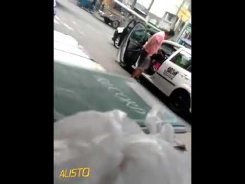 Isang lolo na taxi driver binugbug at sinapak ng isang lalaki
