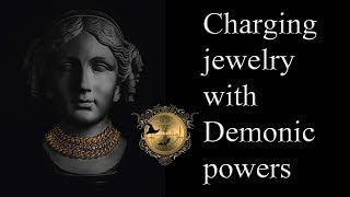 How to charge jewelry on the seal of Sabnock and other Demons. See more Sabnock videos below!