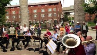 CSO and Civic Brass at Ping Tom Memorial Park - 155