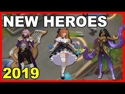15 UPCOMING NEW HEROES 2019 - MOBILE LEGENDS