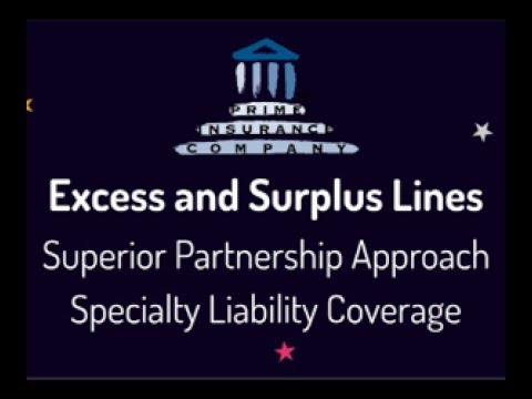 Specialty Liability Coverage by Prime Insurance Company