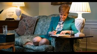 March 2017 - Sturgeon signs letter for 2nd referendum