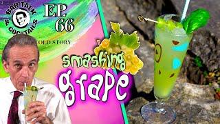 Smashing Grape Cocktail