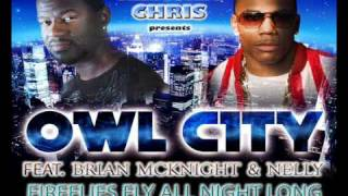 "NEW 2010 ""FIREFLIES ALL NIGHT LONG"" Nelly, Brian McKnight & OWL CITY [OFFICIAL]"