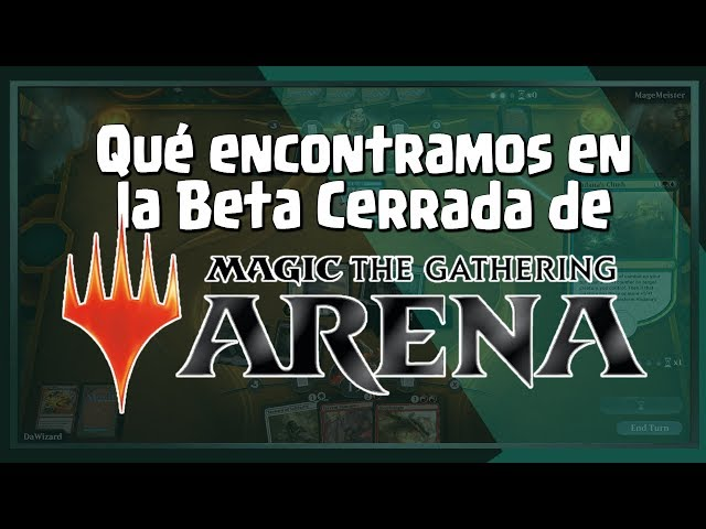 Tenemos acceso a la beta de MAGIC ARENA y te contamos que contiene