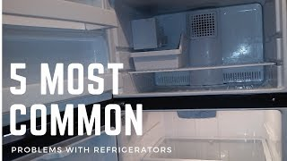 Five Most Common Problems With Refrigerators