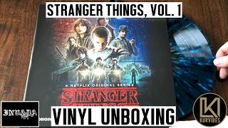 Gambar cover Kyle Dixon & Michael Stein - Stranger Things Volume 1 Vinyl Unboxing | KurVibes