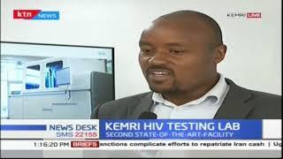 New HIV Viral Load Testing Laboratory launched at KEMRI