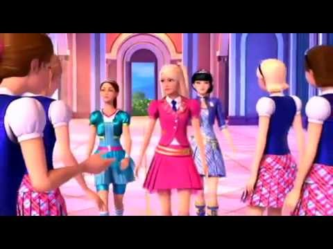 You can tell she's a princess [Barbie at Princess Charm School]