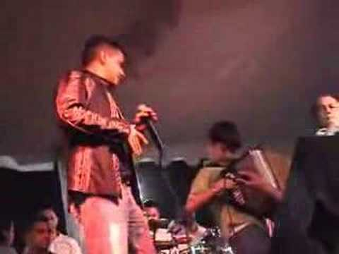 Jorge Celedon con Kevin Meza