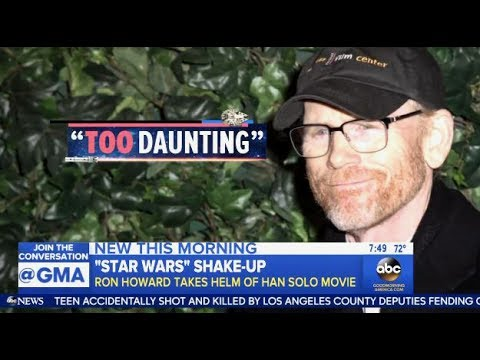 Ron Howard Takes Over Han Solo Movie - Filming To Resume July 10th