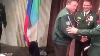 preview picture of video 'Sprejem veteranov vojne za Slovenijo Šoštanj v članstvo Zveze veteranov (ZVVS)'