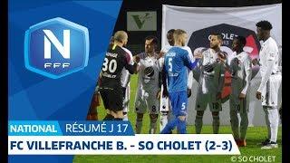 J17 : FC Villefranche B. - SO Cholet (2-3), Le Résumé I National FFF 2018-2019