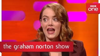 Emma Stone Talks About Her Attempt At The Dirty Dancing Lift  The Graham Norton Show  BBC One