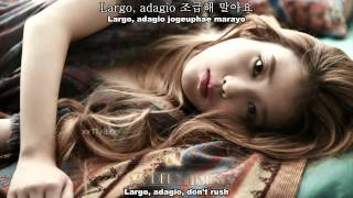 IU - Between The Lips (50cm) [English Sub + Romanization + Hangul]
