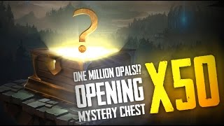 Vainglory - Chest Opening: THE HUNT FOR 1 MILLION OPAL JACKPOT! [50 Chests]